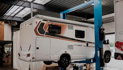 Werkplaats Caravans en Campers Vinken Asten