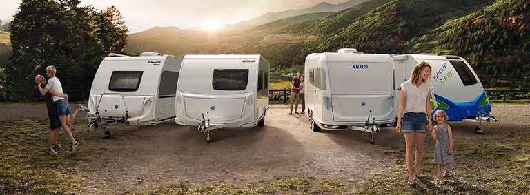 Nieuwe 2021 caravan modellen Knaus - Vinken Caravans Asten