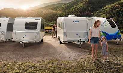 Nieuwe collectie 2021 caravan en campers Vinken Caravans Asten